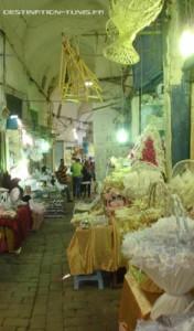 Une des ruelles du Souk el Attarine.
