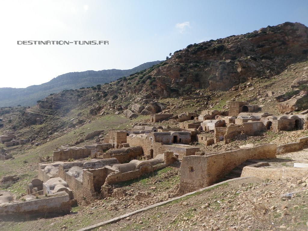 Ruines du vieux village de Zriba