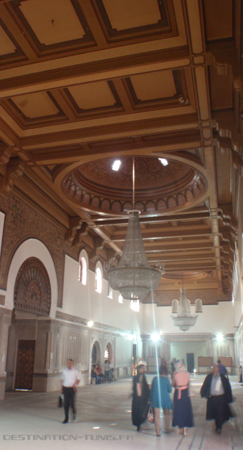 Salle des pas perdus du Palais de Justice.