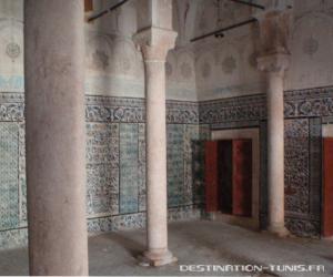 L'ancienne salle de prière de la médersa.