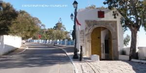 Entree palais Baron Erlanger Sidi Bou Said