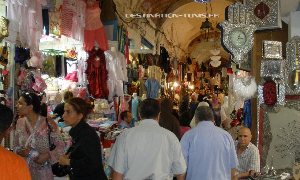 Le Souk où l'on trouve tout ce qu'il faut pour un bon mariage ! Médina de Tunis