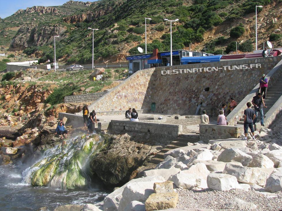 Hydrogéologie de Korbous : origine des sources chaudes