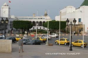 Les taxis jaunes en Tunisie