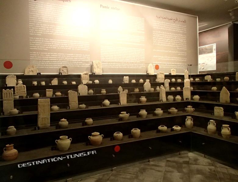 Les urnes funéraires extraites du sous-sol de Sousse