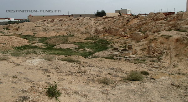 Au coeur du vieil amphitéâtre d'El Jem