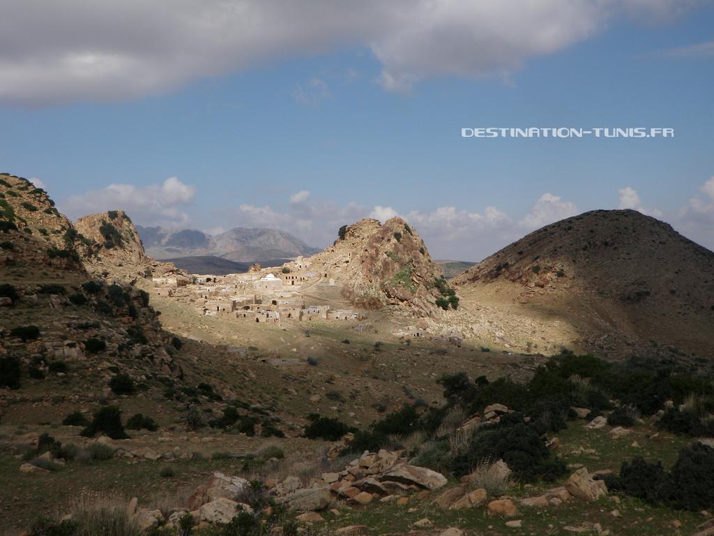 Le vieux village berbère de Zriba