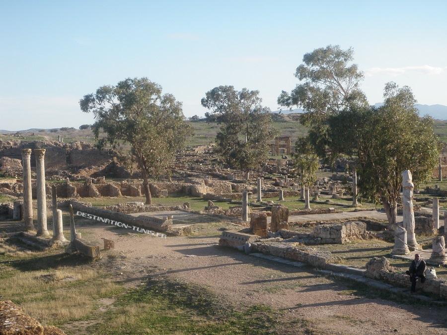 Le marché romain de Thuburbo Majus