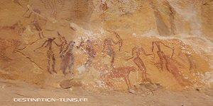 Patrimoine tunisien : les peintures rupestres du djebel Weslatia