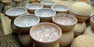 Ecotourisme : atelier de fabrication de céramiques dans la médina de Tunis