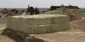 Ecotourisme : fabrication des briques de Tozeur