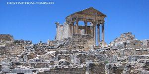 Patrimoine tunisien : l'immense Capitole de Dougga