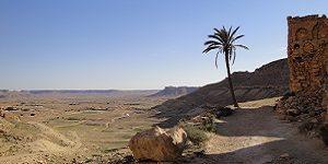 Village de Douiret dans le sud de la Tunisie