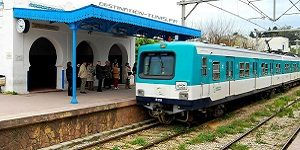 Se déplacer en Tunisie : le TGM, train reliant Tunis, Sidi Bou Saïd et La Marsa