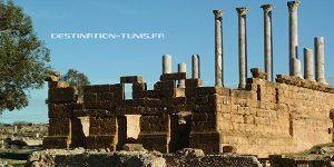 Patrimoine tunisien : le capitole de Thuburbo Majus