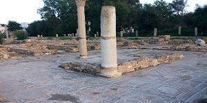 Vestiges archéologiques Pupput à Hammamet